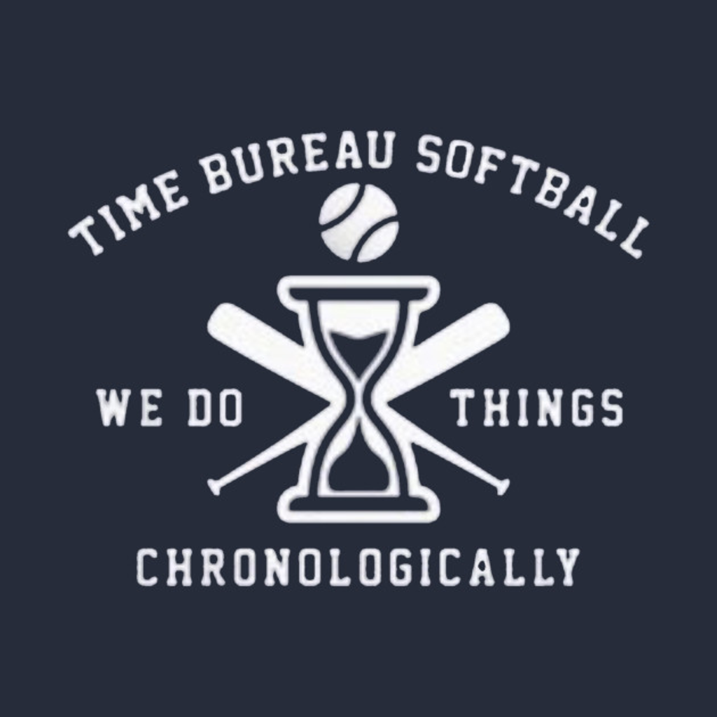 TeePublic: Time bureau softball