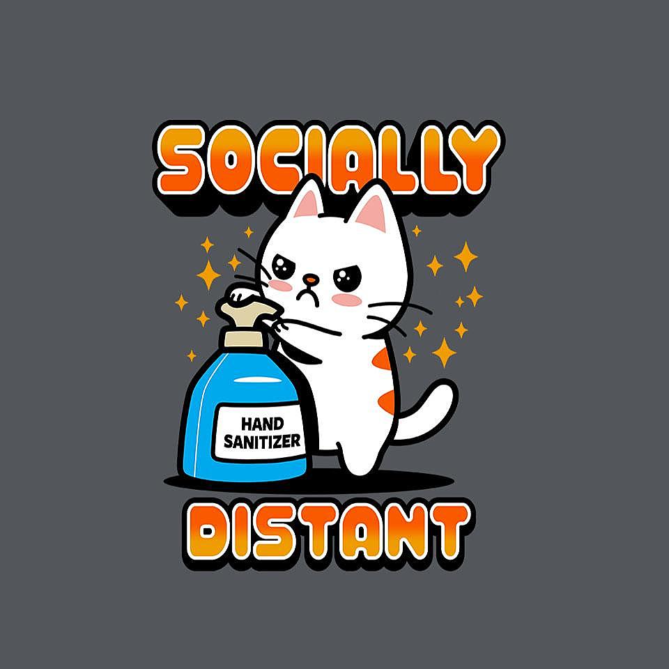 TeeFury: Socially Distant
