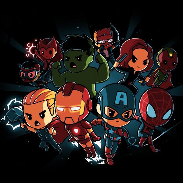 TeeTurtle: Marvel Avengers Shirt