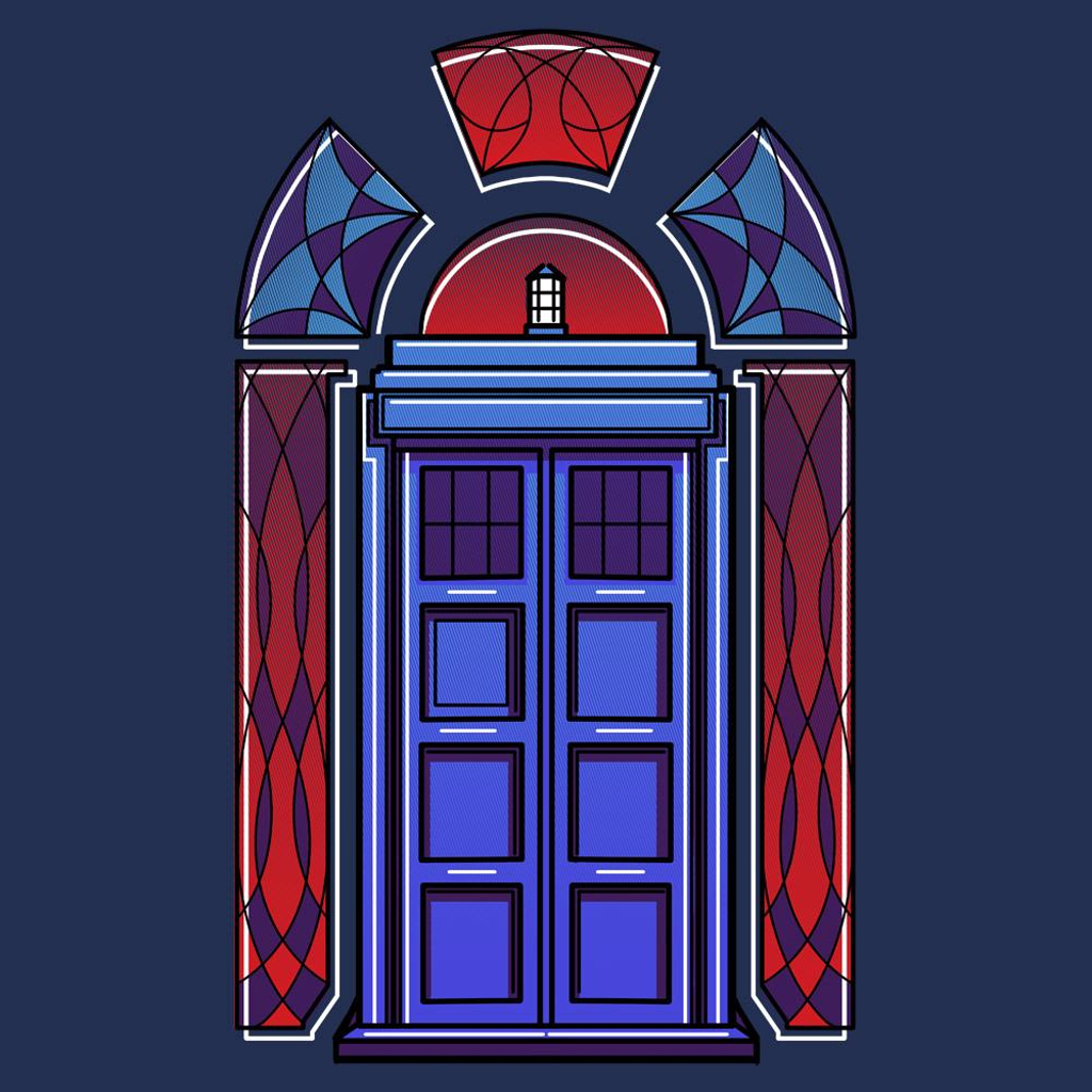 Blue Box Tees: Art Deco TARDIS