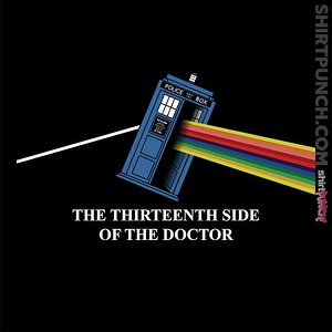ShirtPunch: Thirteenth Side Of The Doctor