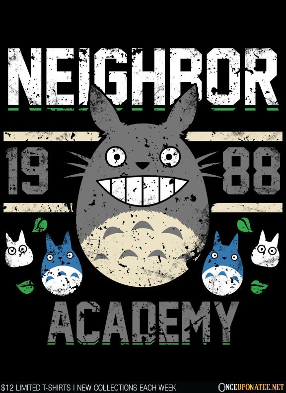 Once Upon a Tee: Neighbor Academy