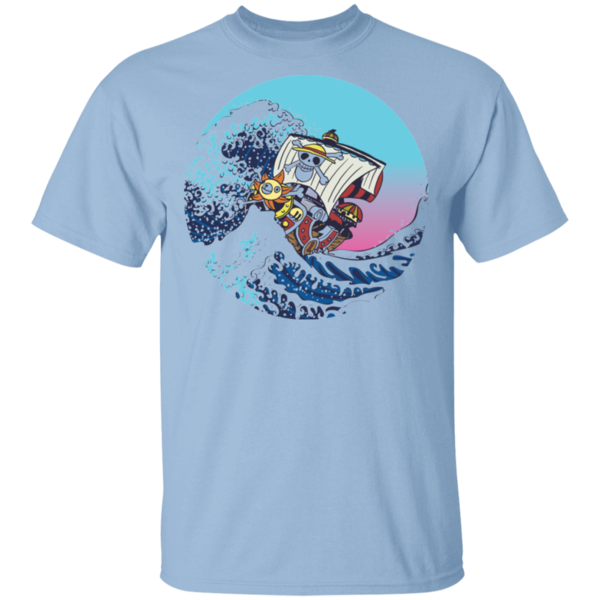 Pop-Up Tee: Sunny And The Great Wave