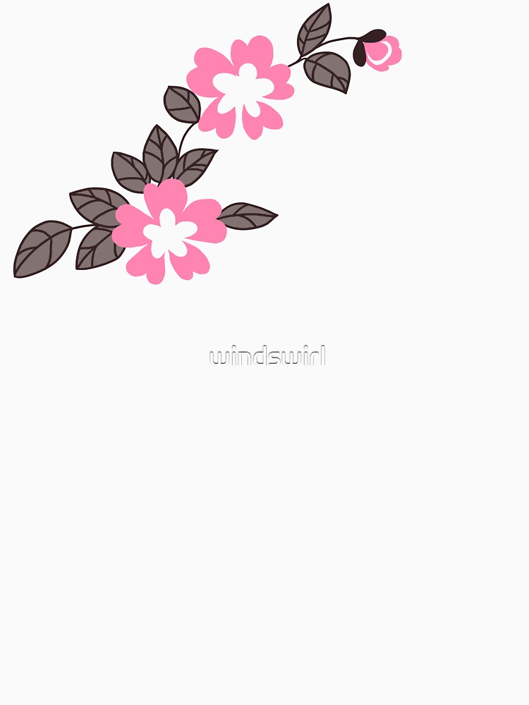 RedBubble: Flower Pattern - Pink