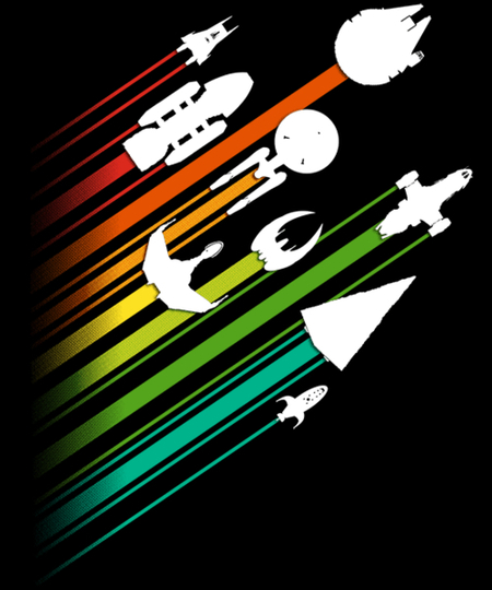 Qwertee: Warp Speed