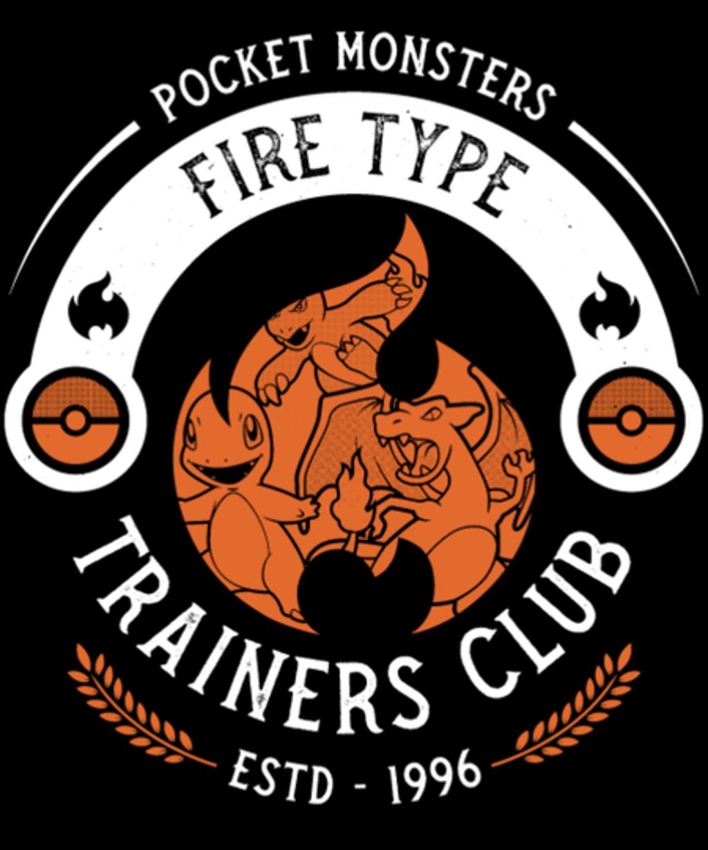 Qwertee: Fire Trainer