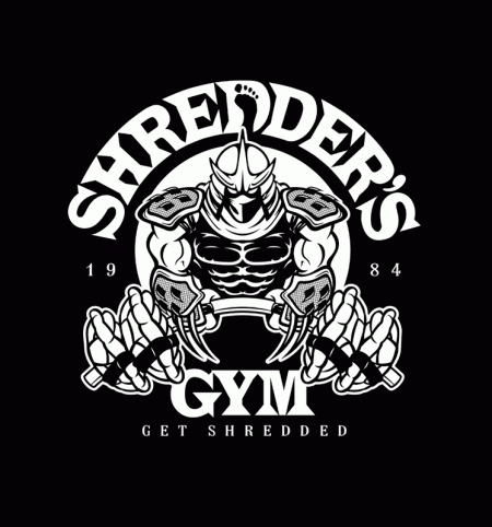 BustedTees: Shredder's Gym