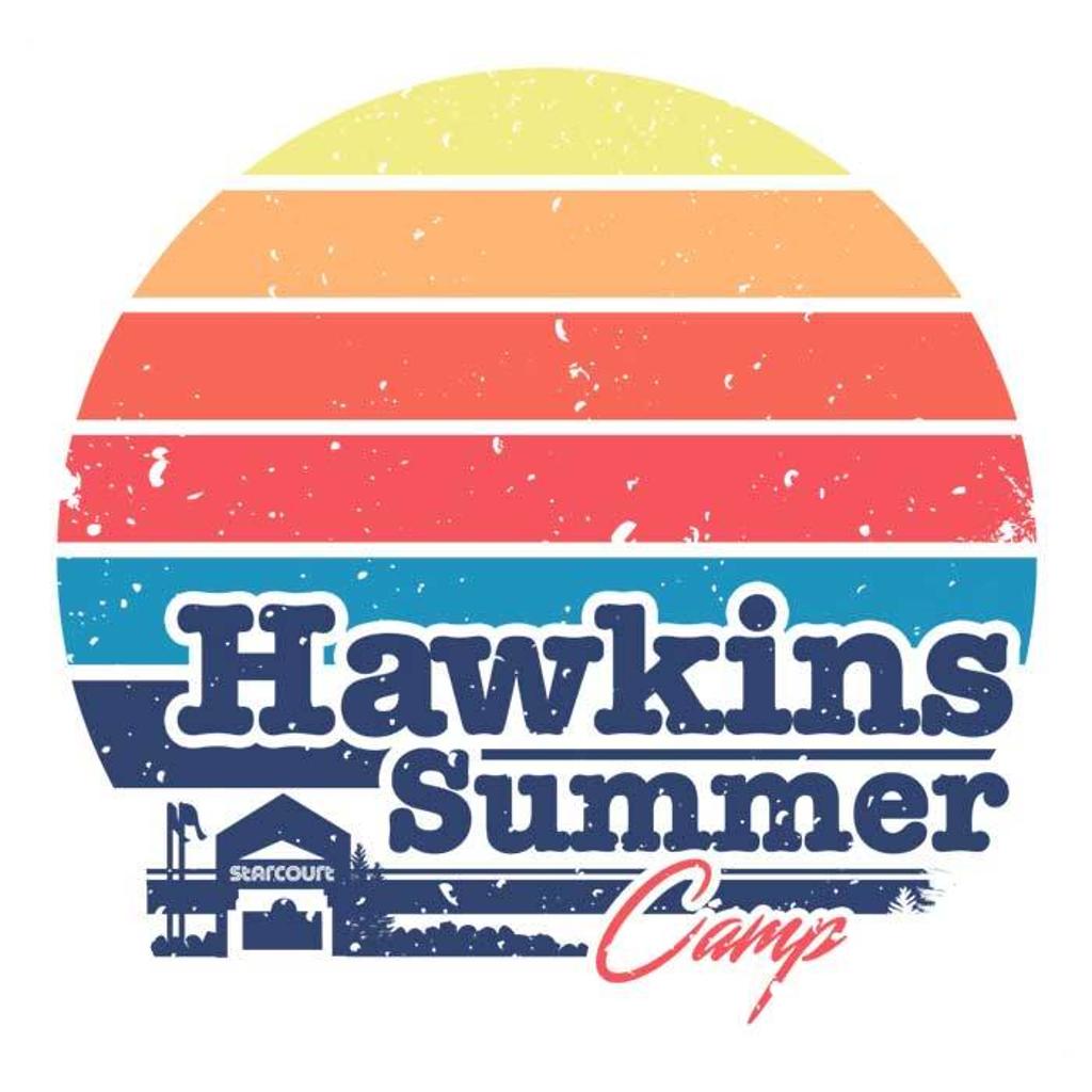 Once Upon a Tee: Hawkins Summer Camp