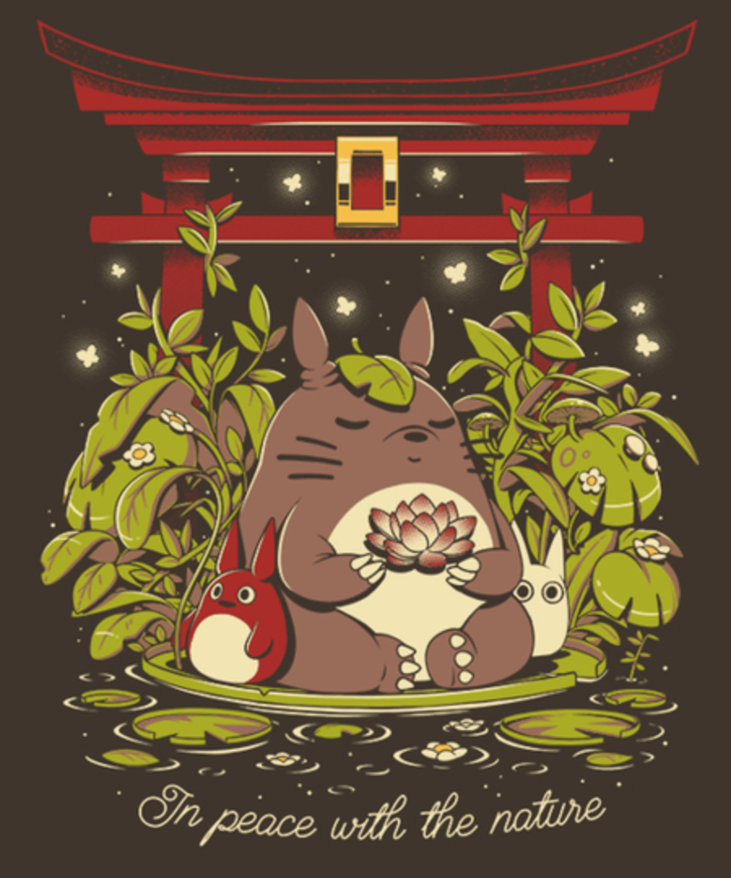 Qwertee: In Peace With the Nature