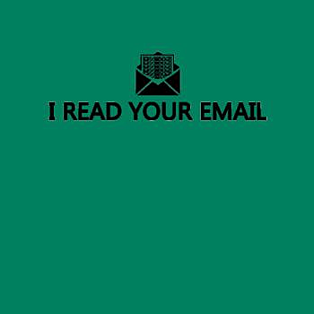 BustedTees: I Read Your Email - Hoodie