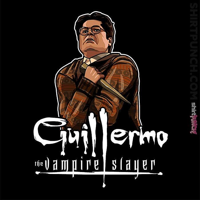 ShirtPunch: Guillermo The Vampire Slayer