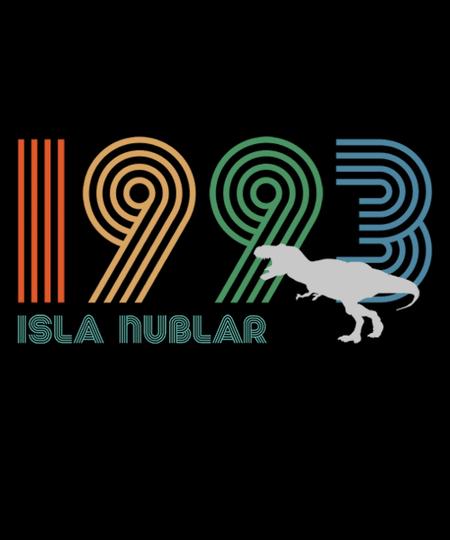 Qwertee: Isla Nublar 1993