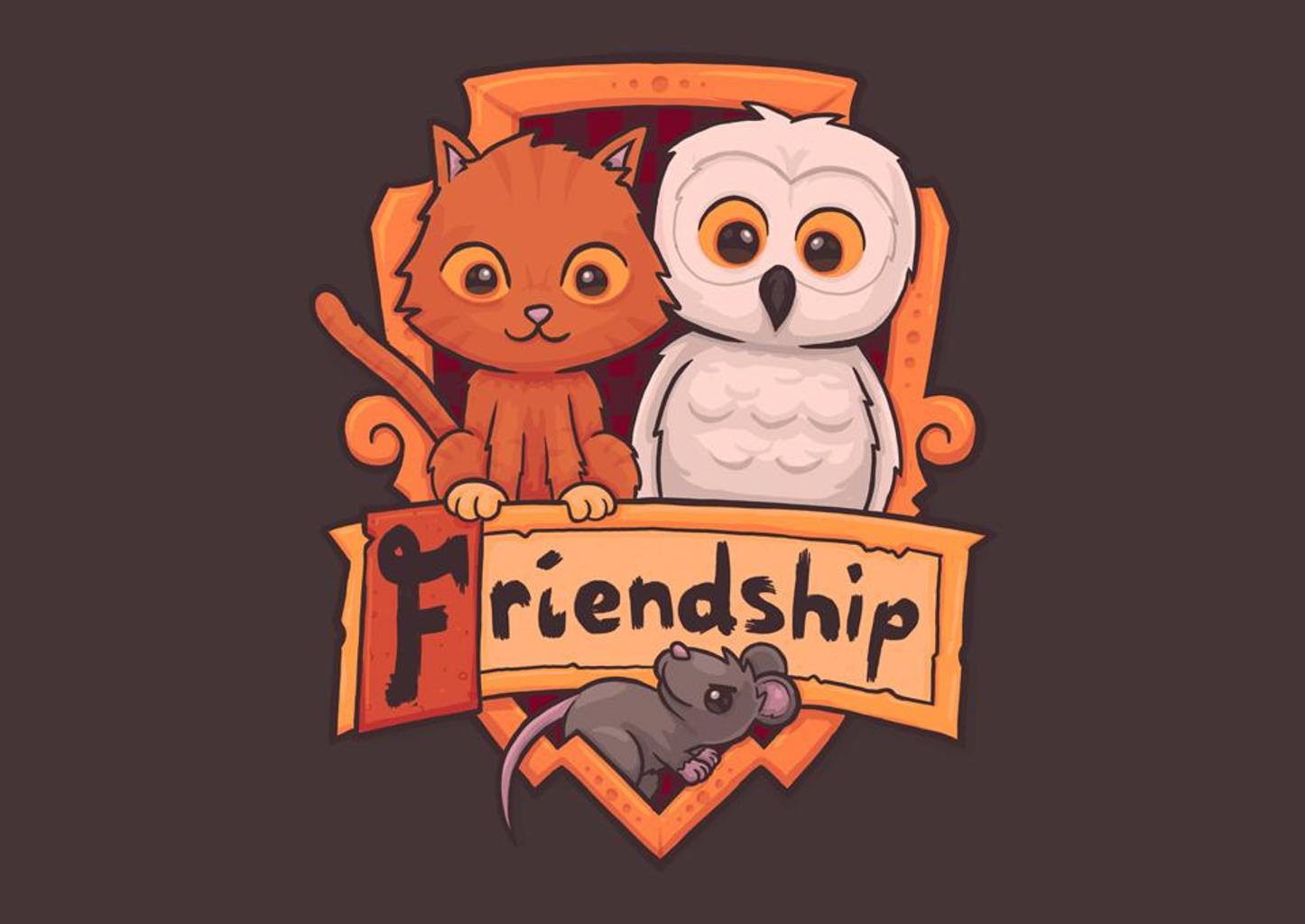 TeeFury: Magic Friendship