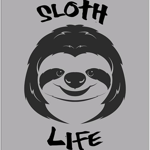 Shirt Battle: Sloth Life