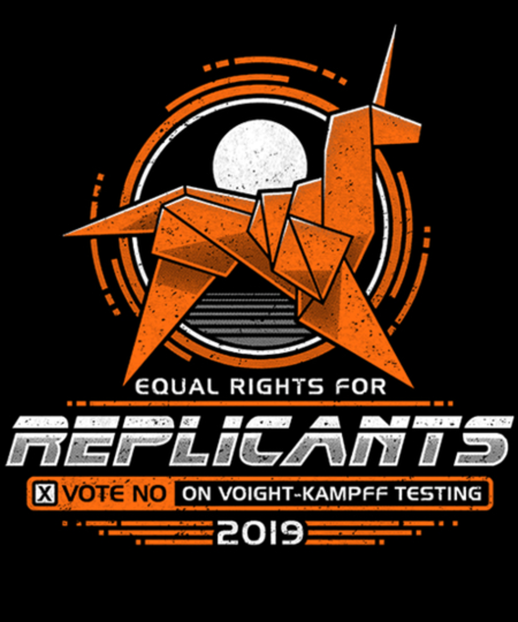 Qwertee: Equal Rights for Replicants