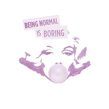 BustedTees: Being Normal is Boring