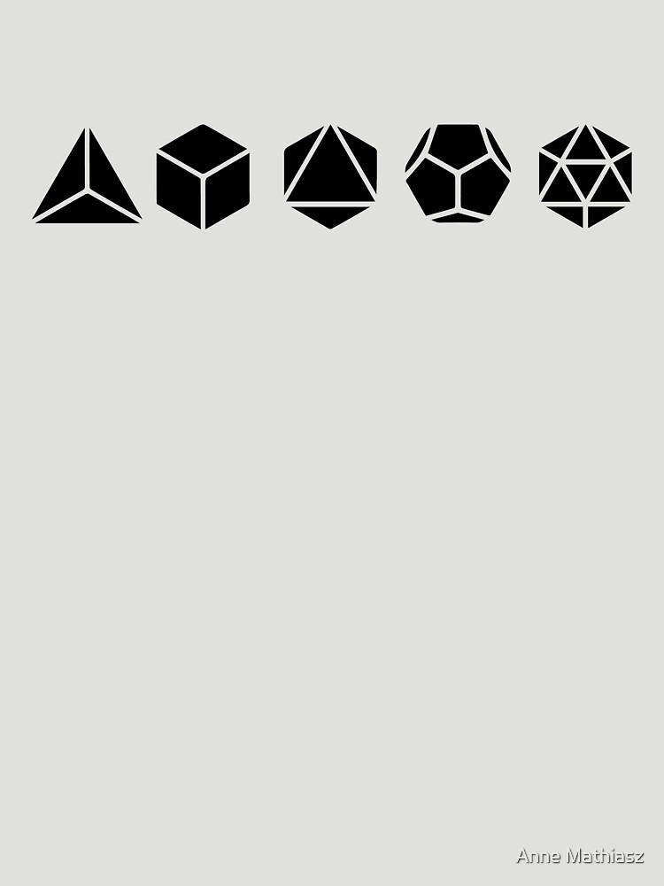 RedBubble: Platonic Solids - Building Blocks Of Life - Mathematics, Geometry