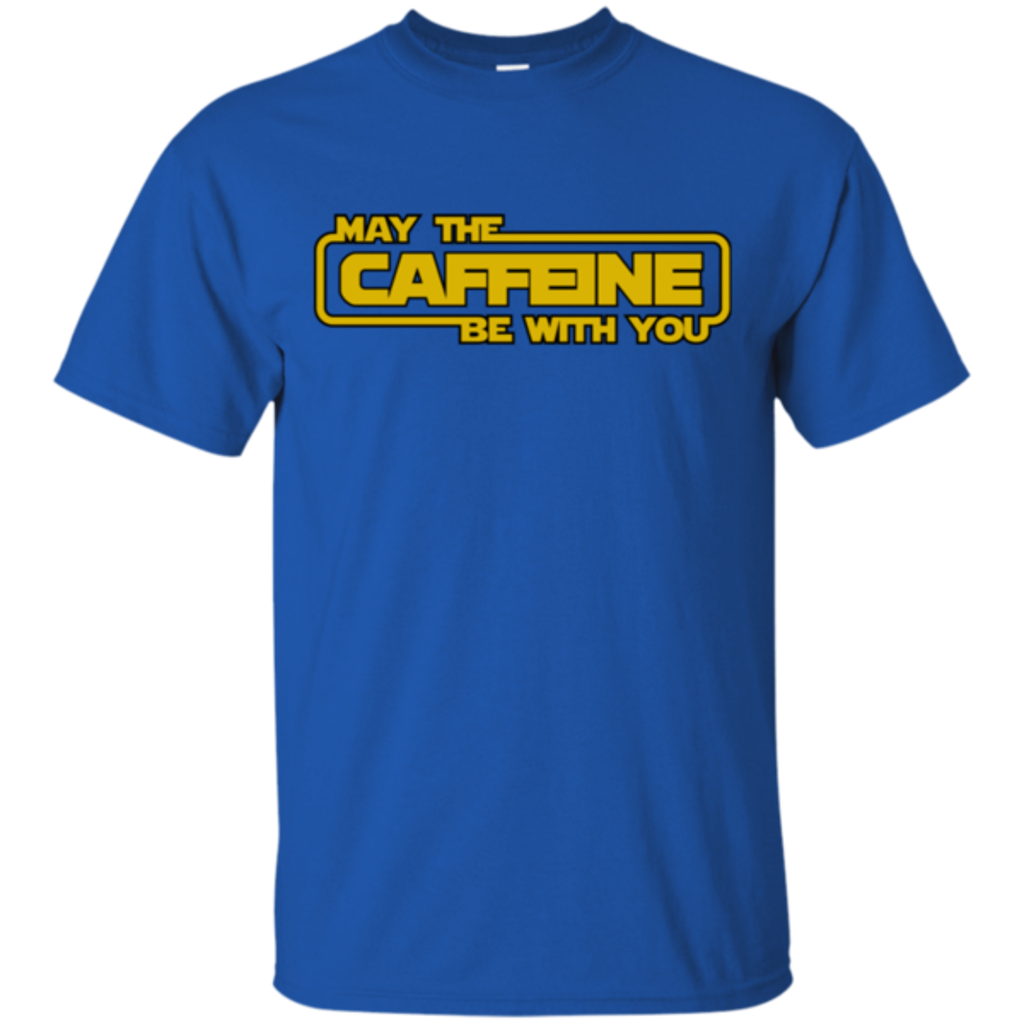 Pop-Up Tee: May the Caffeine Be with You