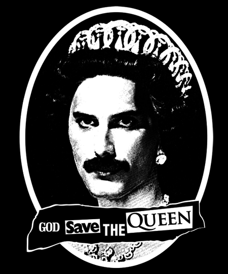 Qwertee: God Save the Queen