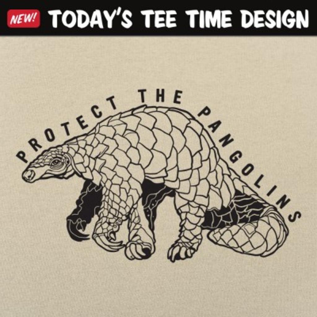 6 Dollar Shirts: Protect The Pangolins