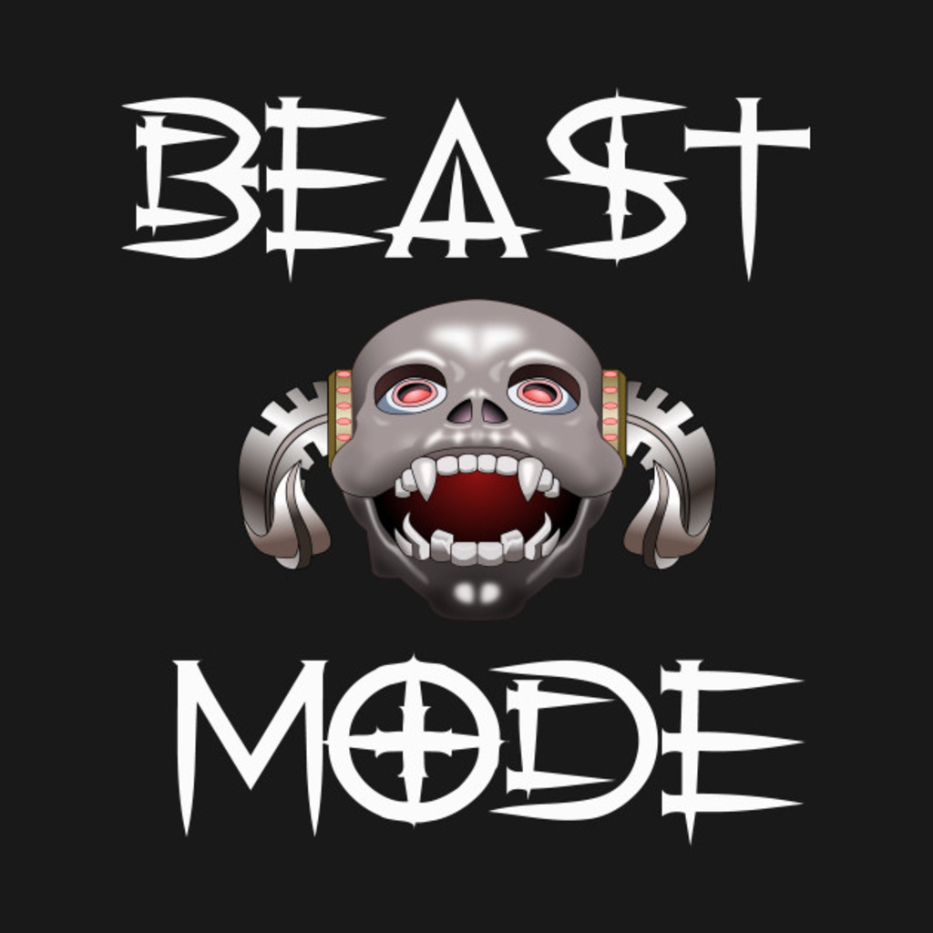 TeePublic: Beast Mode T-Shirt