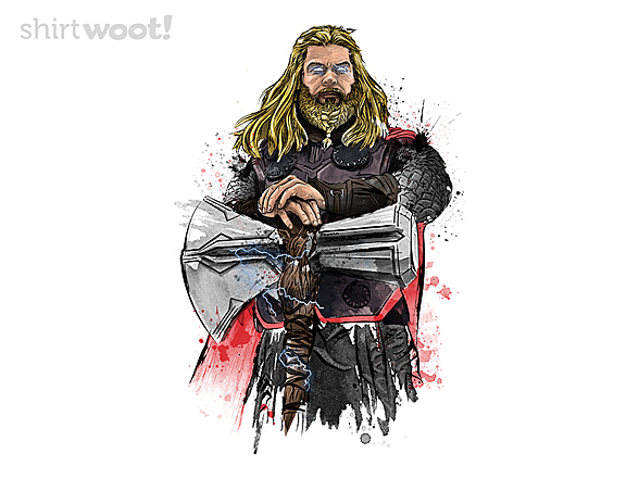 Woot!: God of Thunder Watercolor