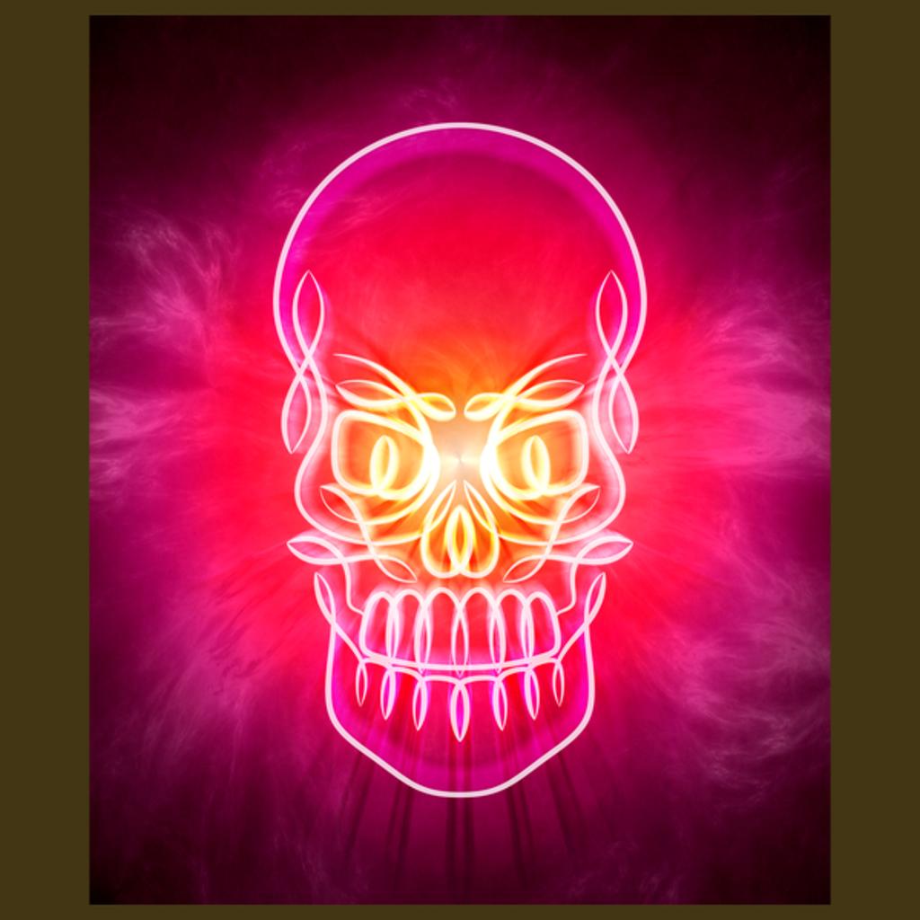 NeatoShop: Neon Glowing Skull