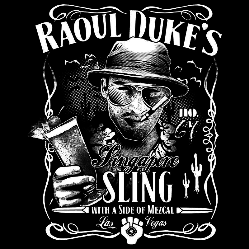 Curious Rebel: Raoul Duke's Singapore Sling