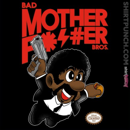 ShirtPunch: Bad Bros