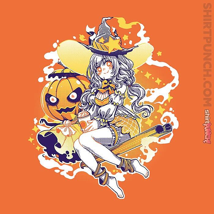 ShirtPunch: Pumpkin Spice Witch