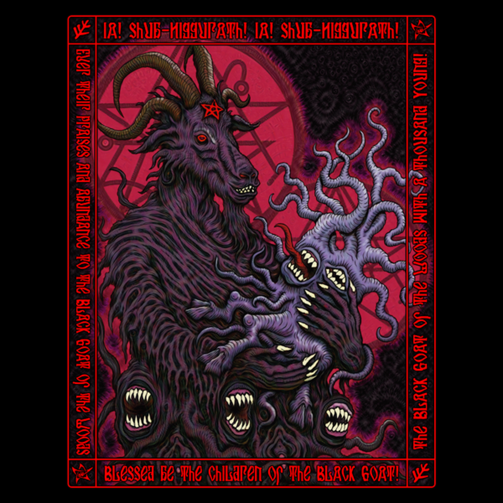 NeatoShop: Black Goat Icon - Azhmodai 2018