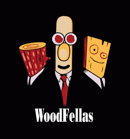 BustedTees: Woodfellas