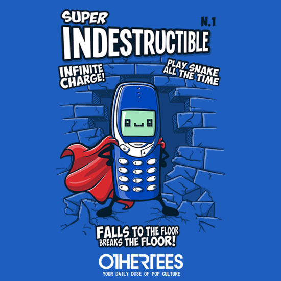 OtherTees: Super indestructible