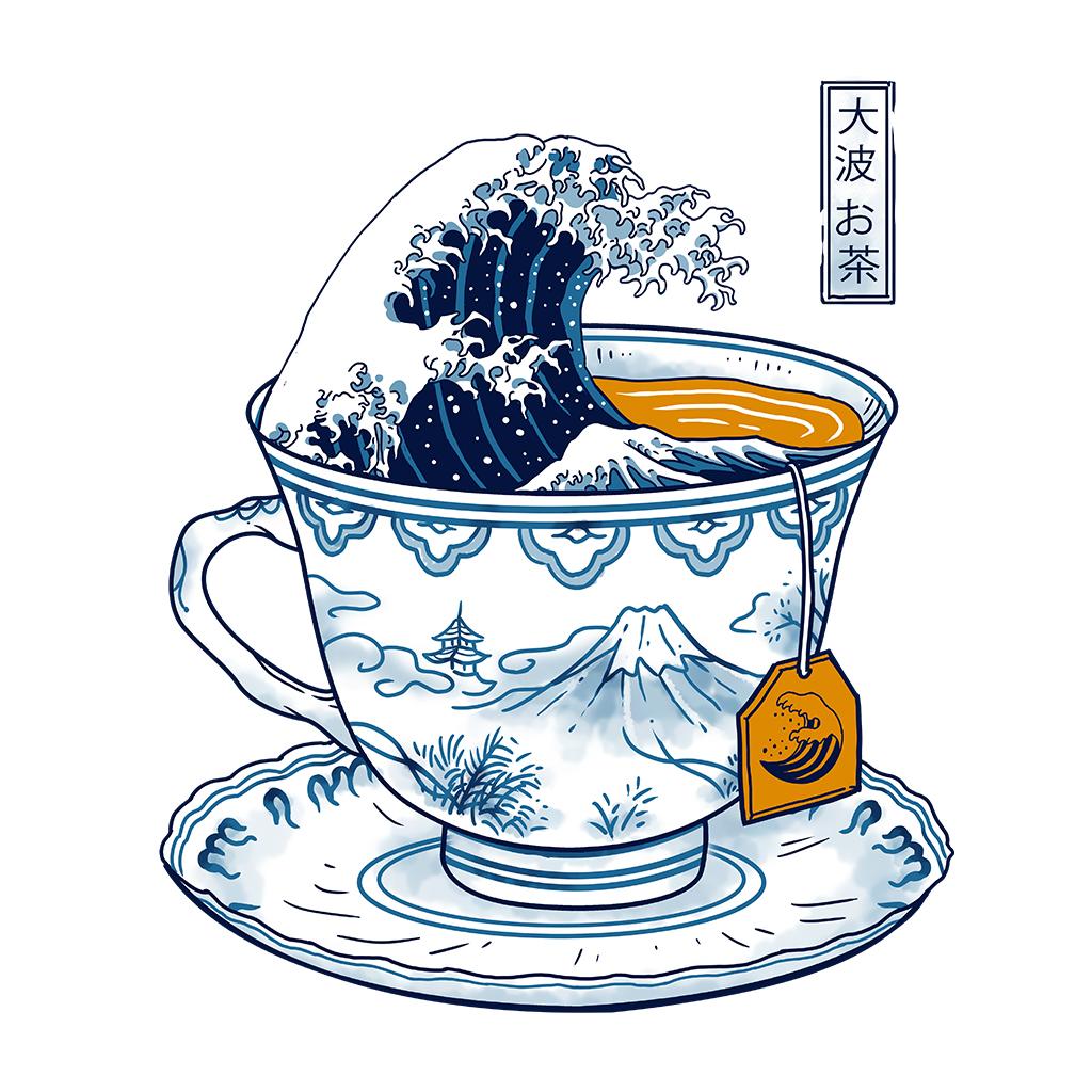 TeeTee: The Great Kanagawa Tee
