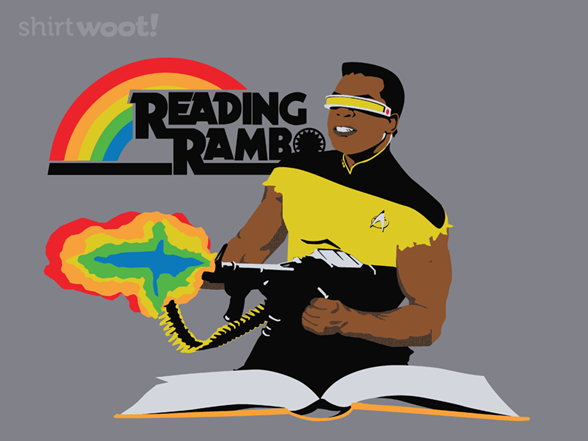 Woot!: Reading Rambo