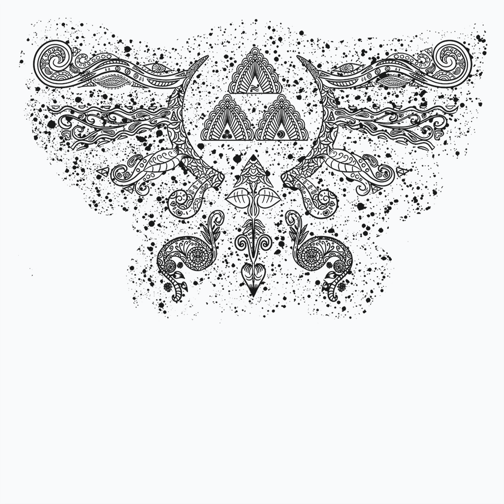 Pop-Up Tee: Henna Hylian Symbol
