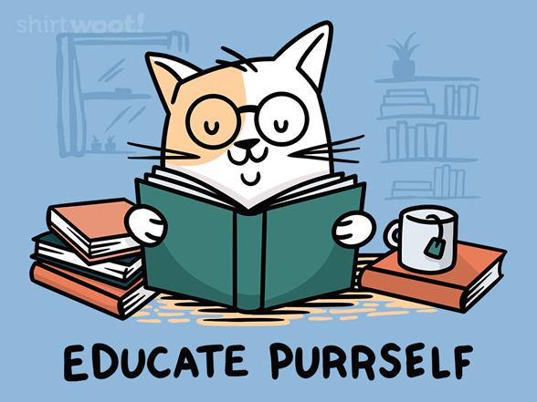 Woot!: Educate Purrself