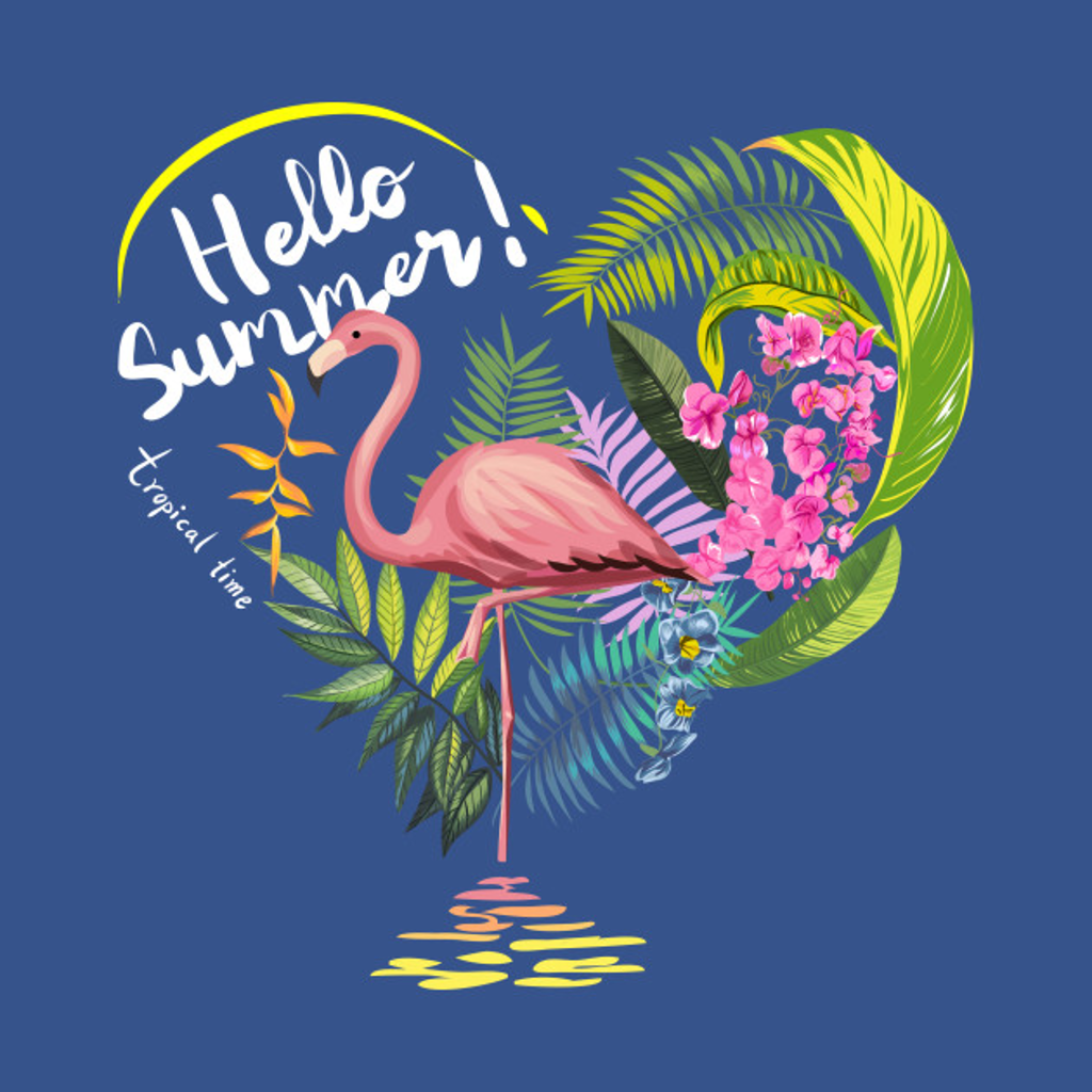 TeePublic: Hello Summer