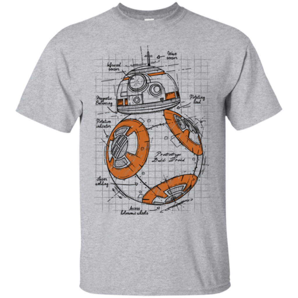 Pop-Up Tee: BB-8 Plan
