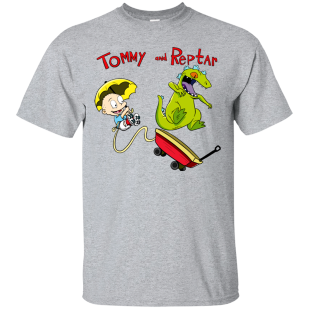 Pop-Up Tee: Tommy and Reptar