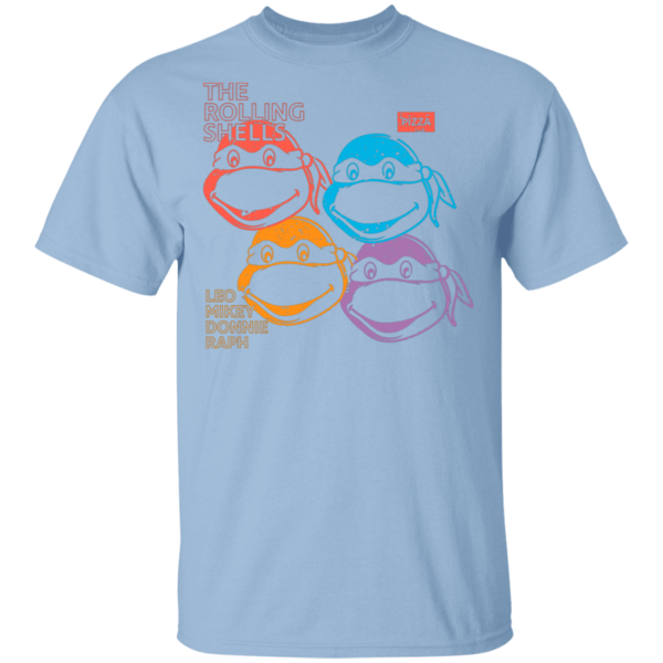 Pop-Up Tee: The Rolling Shells