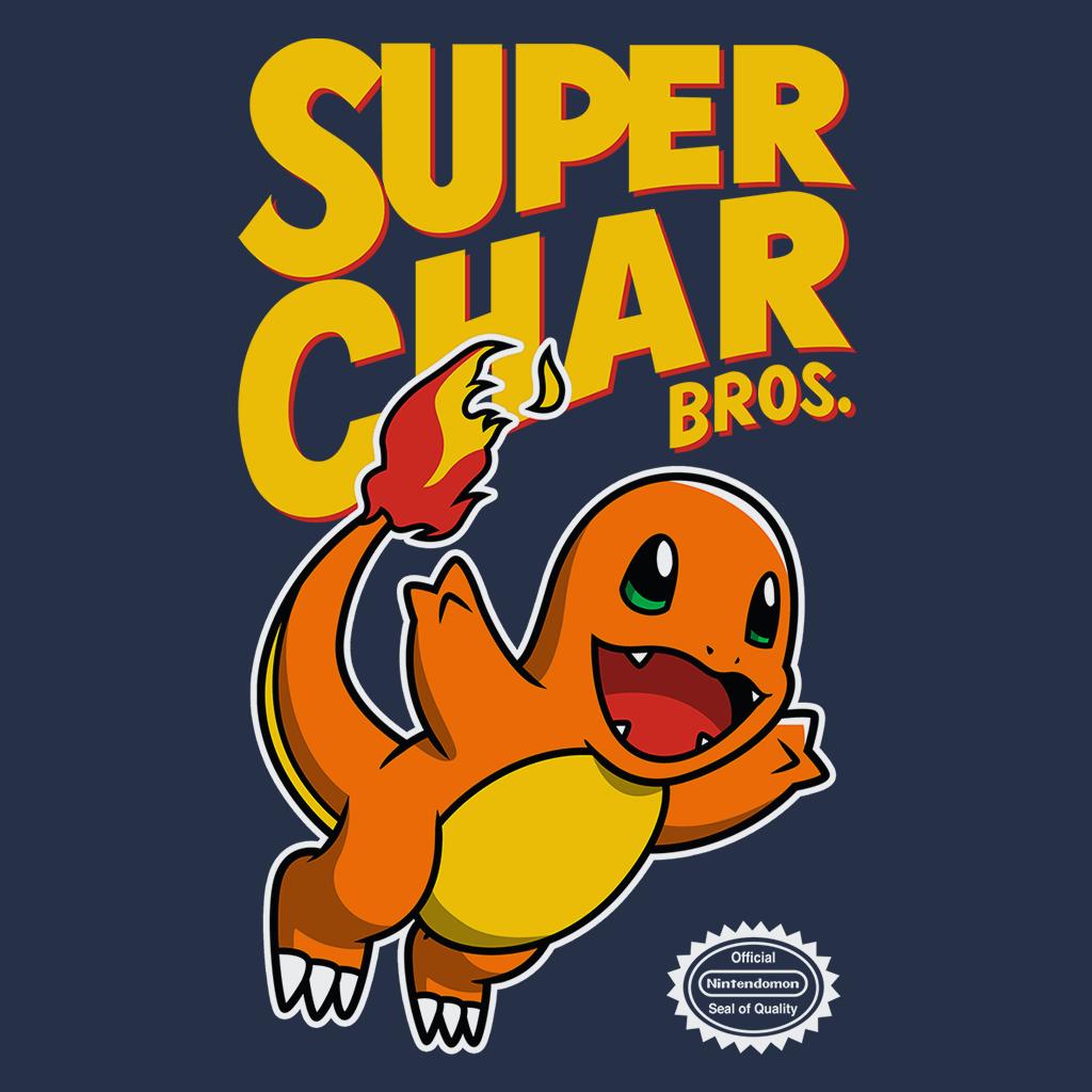 Pop-Up Tee: Super Char Bros