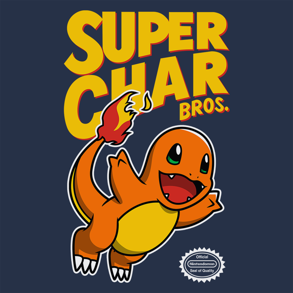 Pop-Up Tee: Super Char Bros