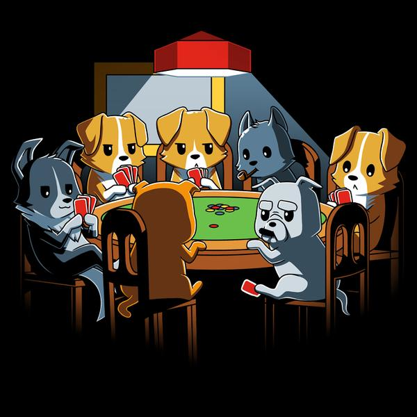 TeeTurtle: Dogs Playing Poker