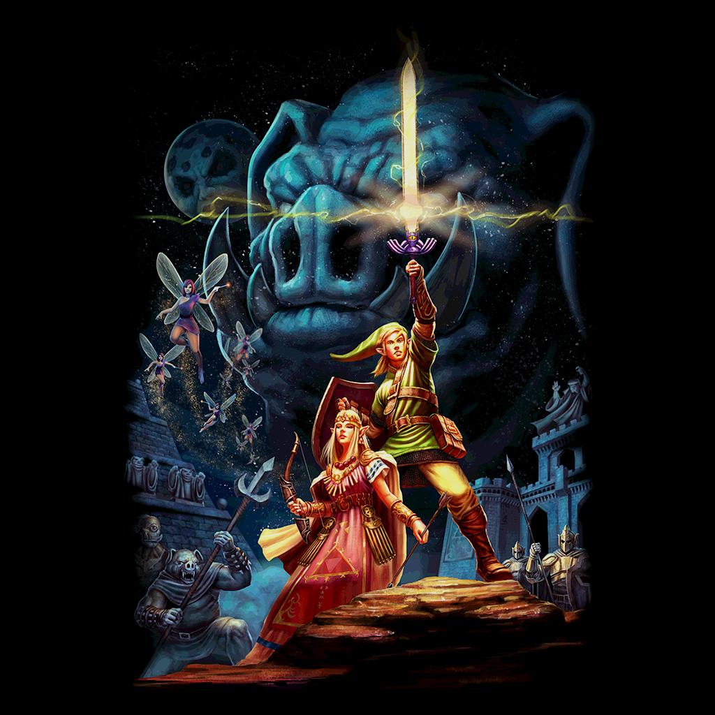 Pop-Up Tee: Link Wars