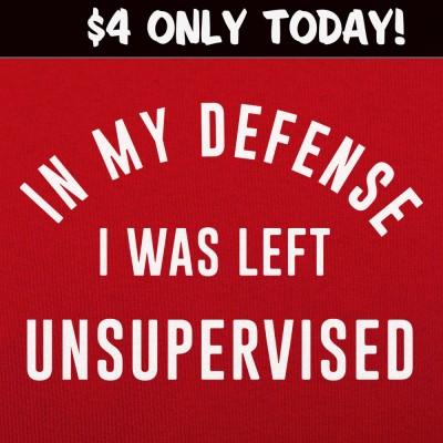 6 Dollar Shirts: Left Unsupervised