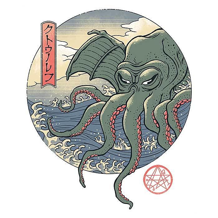 Once Upon a Tee: Ancient Ukiyo-e