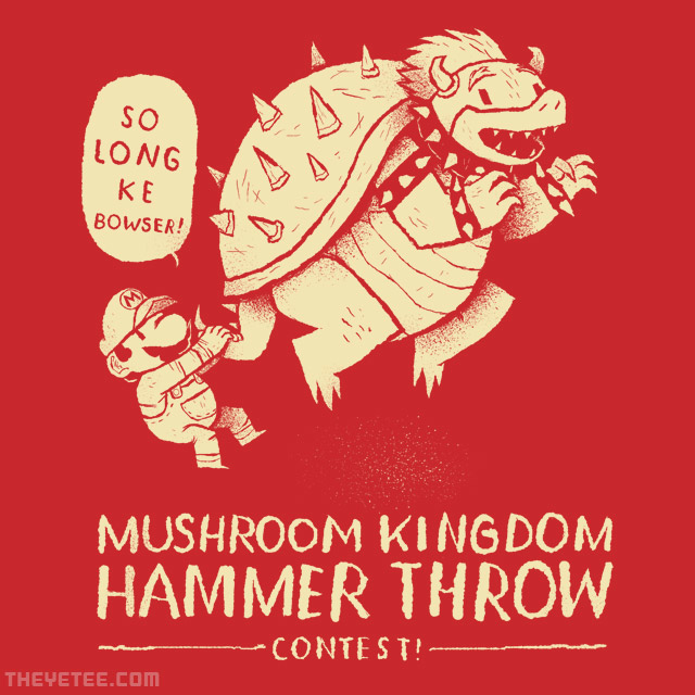 The Yetee: hammer throw contest