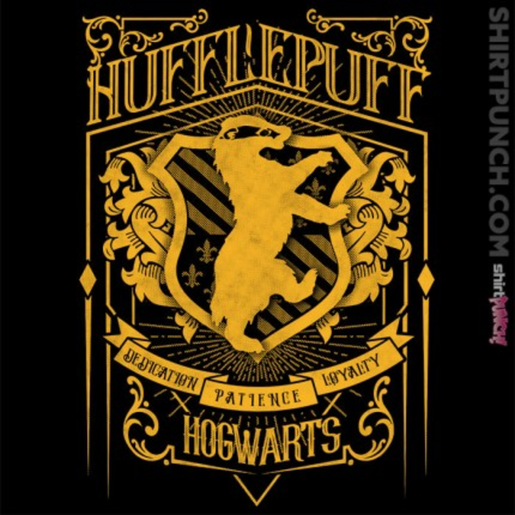 ShirtPunch: Wizardry Badger House