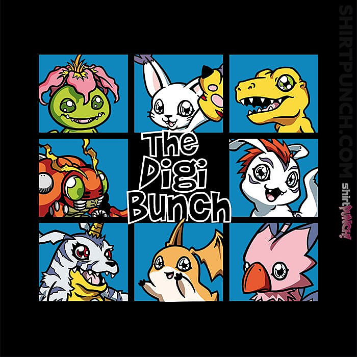 ShirtPunch: The Digi Bunch